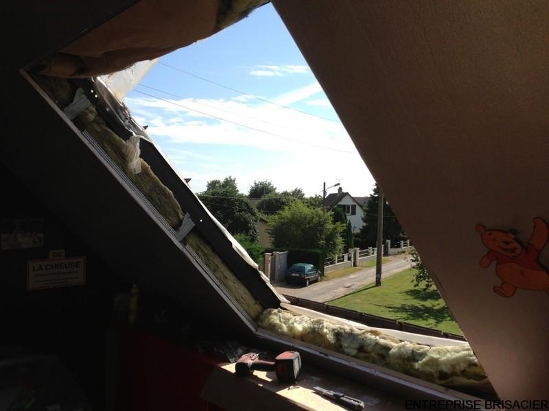 Remplacement Roto Toit Ciel En Fenêtre De Toit Velux
