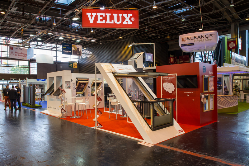 foire de paris stand velux. Black Bedroom Furniture Sets. Home Design Ideas